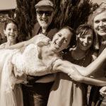Gruppenfoto Hochzeit Braut