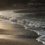 Sandstrand im Morgenlicht
