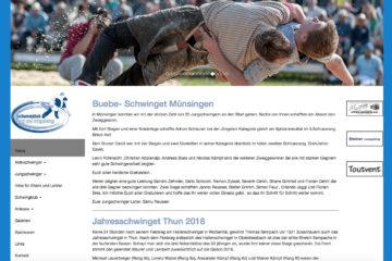 Screenshot Webseite schwingklubthun.ch